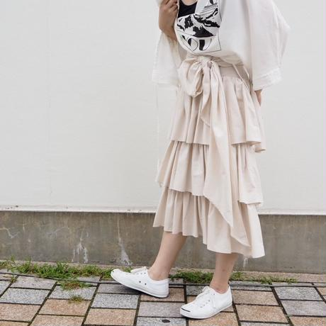ACCIDENTE CON FLORES - LUCAS - tiered skirt