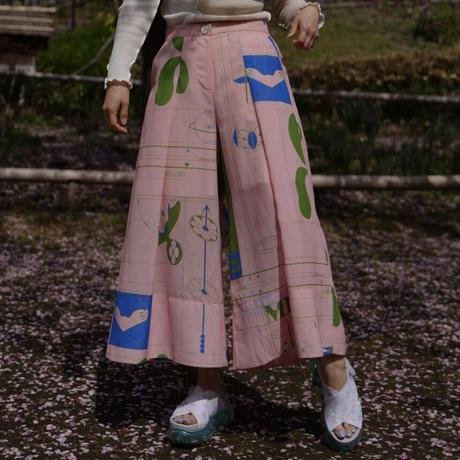 MINJUKIM wide tuck pants