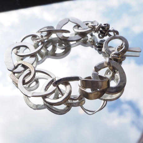 Nyima pure silver bracelet