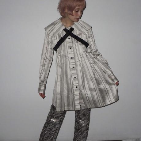 MINJUKIM  sailor collar shirt