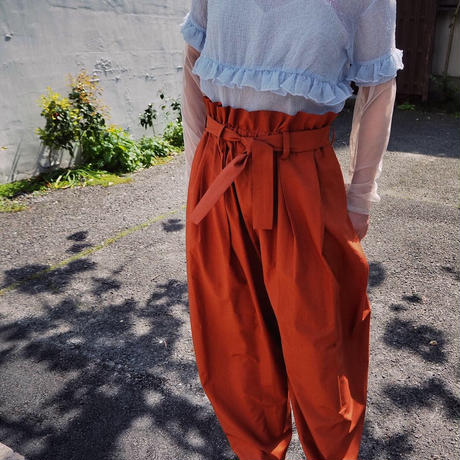 MALKA  MOMA volume pants
