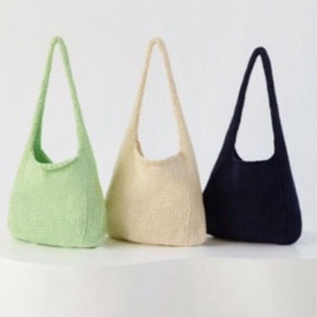 paloma wool -PIDGEY- soft cotton knitted hand bag