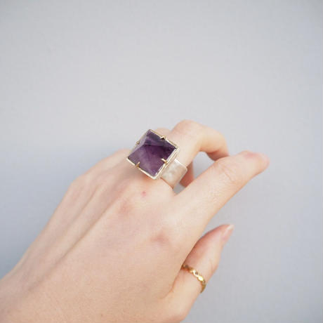 Atlica  amethyst ring