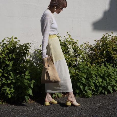 rus -TAMAGO- summer knit skirt