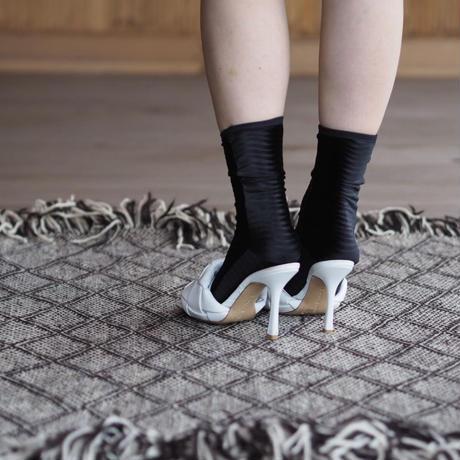 SIMONE WILD wave velvet socks