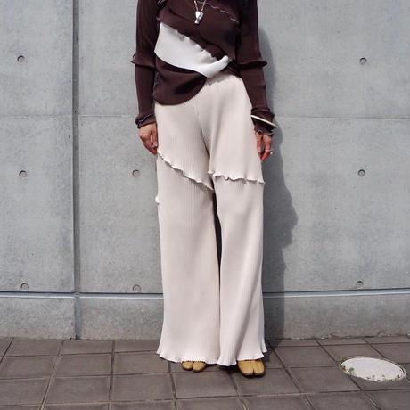 kotohayokozawa pleats pants