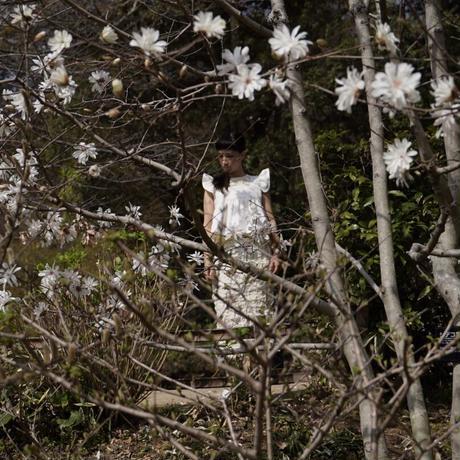 naokitomizuka -flower print blouse-