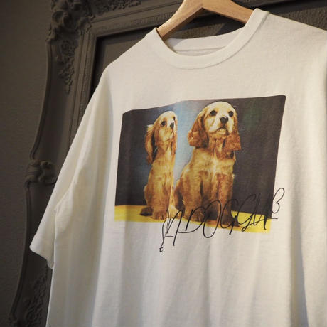 SIIILON old photograph T-shirt(cocker T)