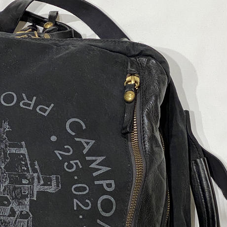 【CAMPOMAGGI】レザーバッグ BLACK/072491856