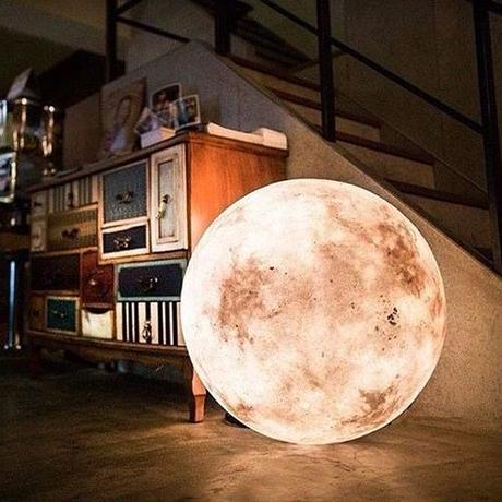 『 LUNAⅣ 』直径60cm 月のランプ Acorn Studio 台湾製
