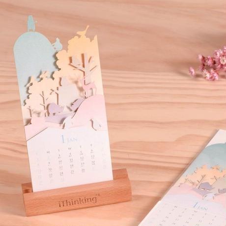 【限定品】インテリア工具メーカー「 iThinking(台湾) 」の2017年卓上デザインカレンダー