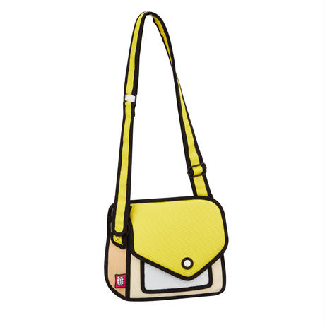 【Jump From Paper】 JFP163 ショルダーバッグ イエロー Color Me In Collection / Giggle Shoulder Bag 正規輸入品