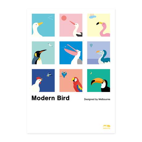 Modern Bird | A2 Poster