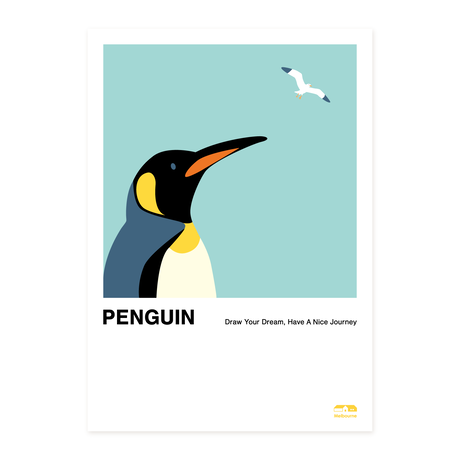 Penguin   A2 Poster