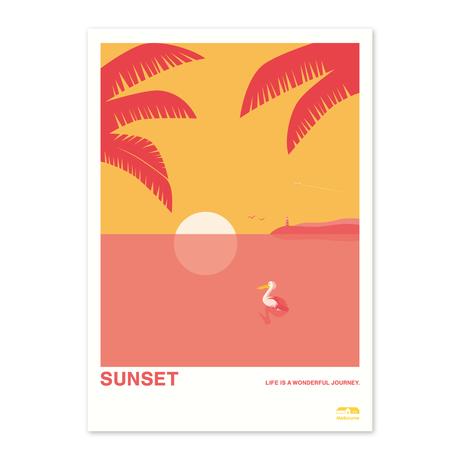 SUNSET | A2 Poster