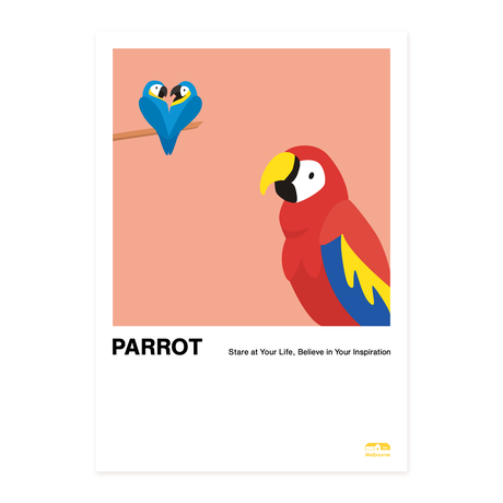 Parrot   A2 Poster