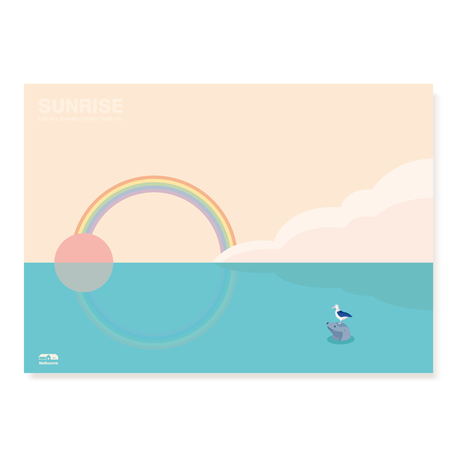 SUNRISE Hawaii   A2 Poster