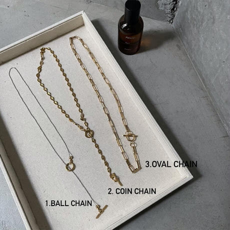 Mantel necklaces stenless