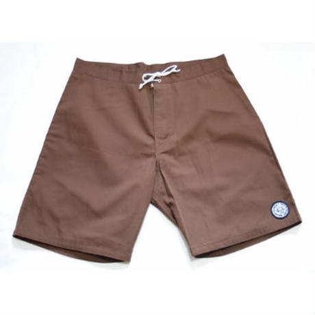 SUNSET1970'S SURF WEARS/ SUNSET BOARD SHORTS / BROWN