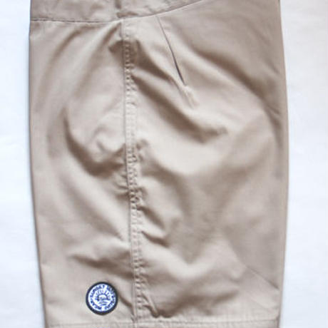 SUNSET1970'S SURF WEARS/ SUNSET BOARD SHORTS / BEIGE