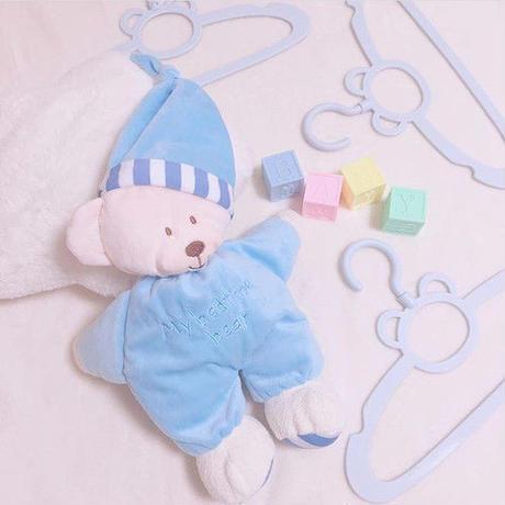 おやすみくまさん ぬいぐるみ(064)