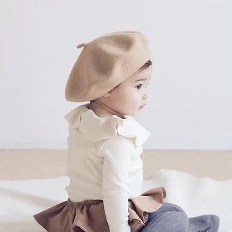 ベビーキッズ ベレー帽(476)