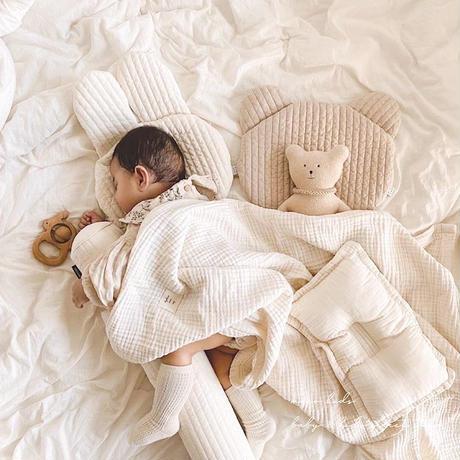 くまさん&うさぎさん お昼寝枕(032)