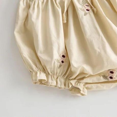 2color 刺繍フラワー × レースブルマ(1700)