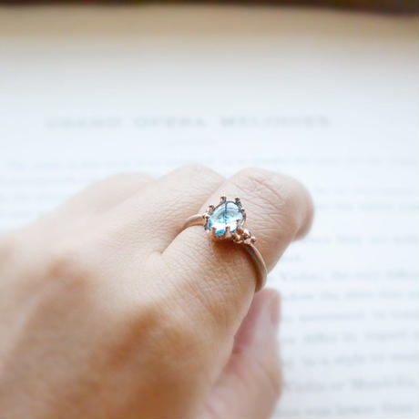 New Only One! Smile of Our Lady Mary Ring -マリアの微笑み-