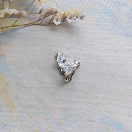 Only One!銀の滴ふるふるハーキマーダイヤモンドイヤリング-18-