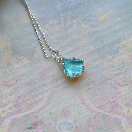 New Only One!心を繋ぐ種-Apatite/マリアの祈り-Necklace