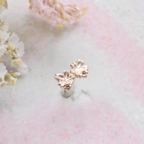MizuSakura-水桜- Pierced /K10PinkGold/Matte Type