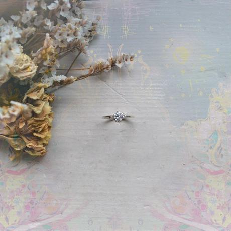 銀の滴ふるふるリング『光の滴』-愛とひとつ-