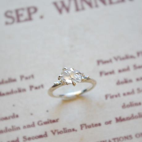 Herkimer Diamond  Ring -18-