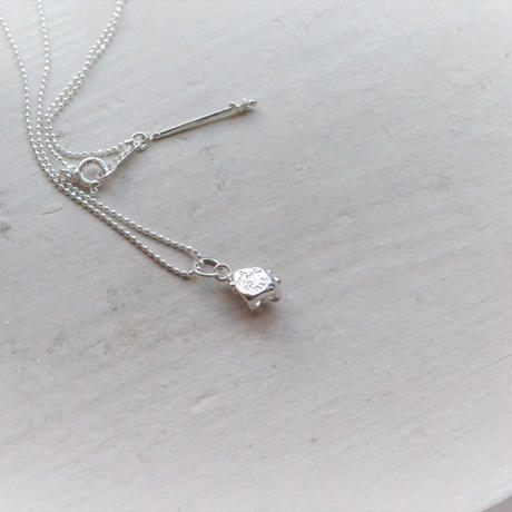 Only One!Herkimer Diamond SV925 Necklace-9-