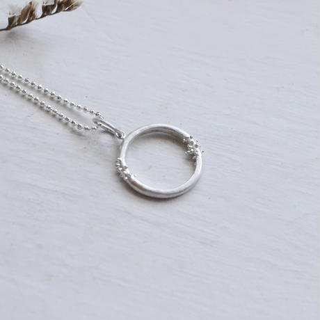 Water  Wreath -水のリース-Necklace