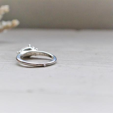 Only One!Herkimer Diamond SV925 Ring-13-