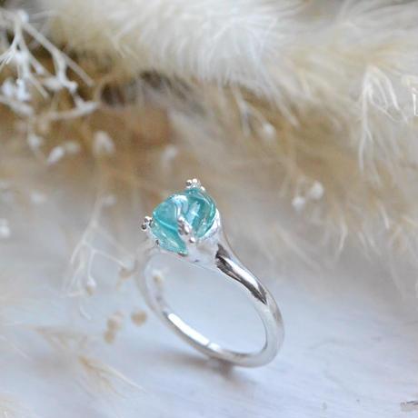 Huruhuru Only One! GemStone Ring/Apatite -8-