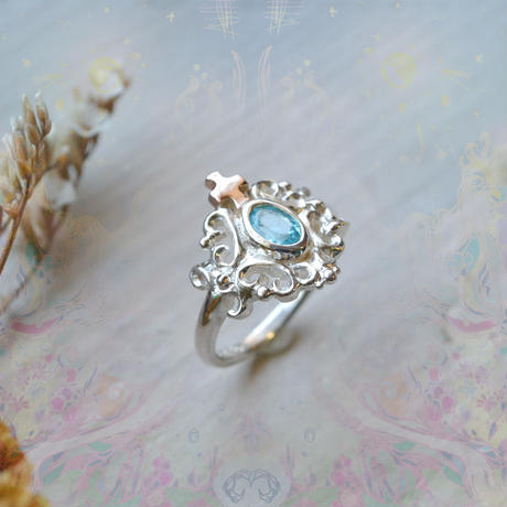 New Only One!心を繋ぐ種-Apatite- Ring