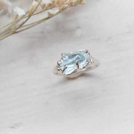 Only One /GemStone Ring  -Aquamarine-
