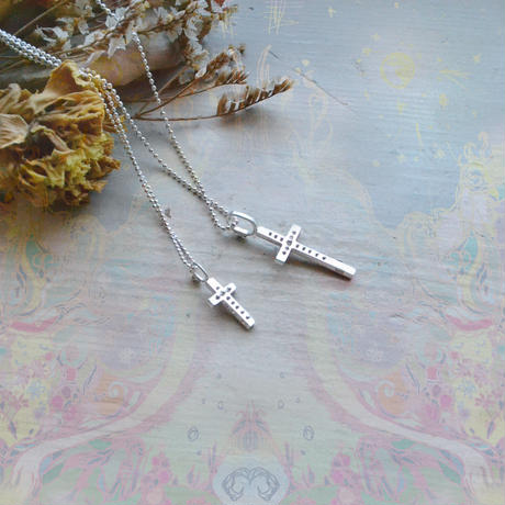 New !2WAY Cross Pendant Top  /Pair