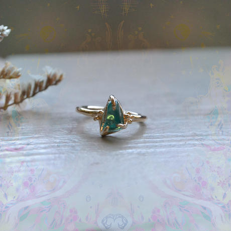 New Only One!心を繋ぐ種-Apatite-Ring
