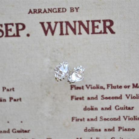 Herkimer Diamond  Pierced -7,8-