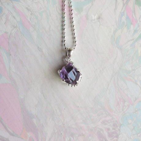 Gemstone Ametyst Necklace -14-/'21soranotane