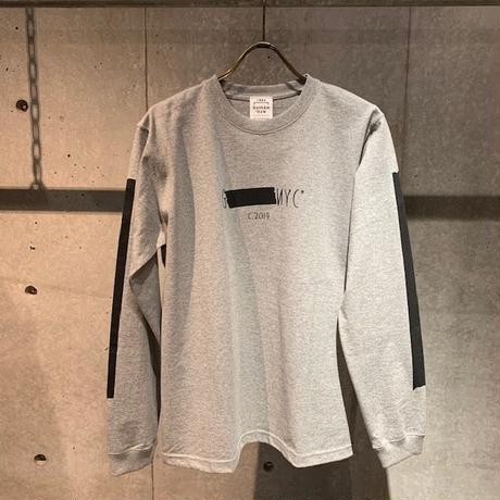【GOTHAM NYC】ロングTシャツ グレー