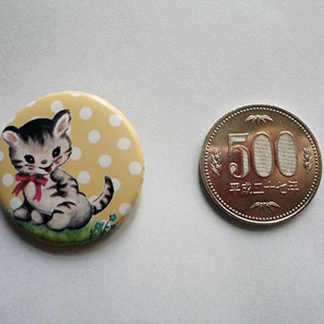 ネコドット缶バッチ(ル・ロンロン)