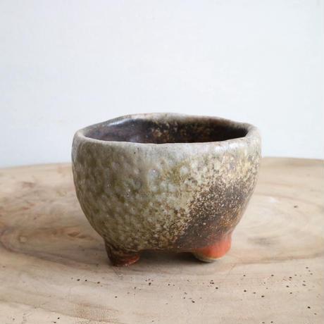 和田窯鉢  てびねり    no.052  φ8cm