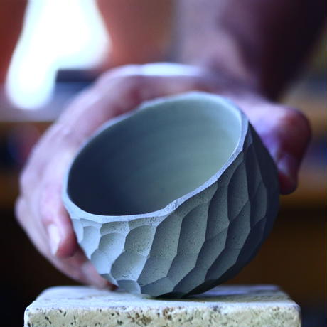 N/OH     コロ鉢  (スモーキーグレー)  XS   no.100432