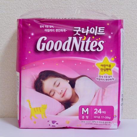 Goodnites Mサイズ 24枚入り