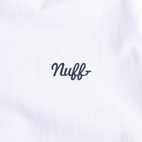 Mentenance x Nuffmek Sounds / nuff  underslowjams TEE  (White)